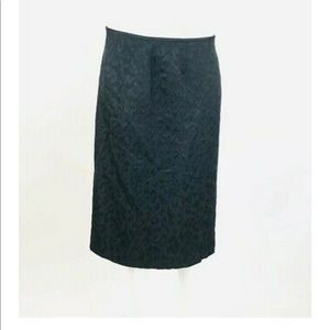 Albert Nipon Textured Pencil Skirt